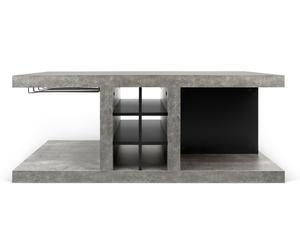 """Konferenční/barový stolek """"Detroit Black II"""", 65 x 110 x 45 cm"""