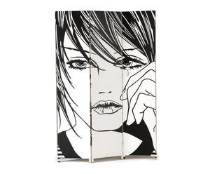 """Parawan dwustronny """"Comics"""", 3 x 120 x 180 cm"""