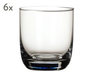 """Sada 6 sklenic na whiskey """"La Divina"""", obj. 360 ml"""