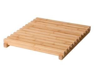 "Dřevěná rohož ""Ecija"", 38 x 43 x 5 cm"