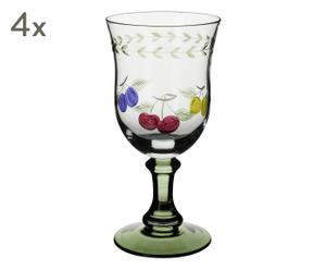 "Sada 4 skleniček ""French Garden I"""