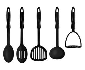 "Sada 5 kuchyňských příborů ""Black"""