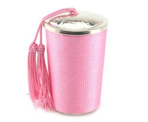 """Vonná svíčka """"Aria Amber Pink"""", Ø 7, výš. 11 cm"""