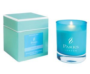 """Vonná svíčka """"Belief Turquoise"""", Ø 8, výš. 9 cm"""