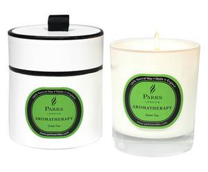 "Vonná svíčka ""Aroma Green Tea"", Ø 8, výš. 9 cm"