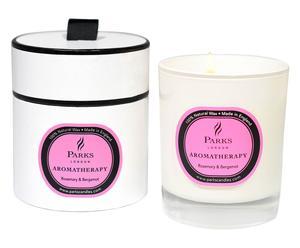 "Vonná svíčka ""Aroma Rosemary Bergamot"", Ø 8, výš. 9 cm"
