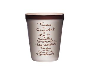 Schokoladenfondue Milk & Crushed Hazelnut