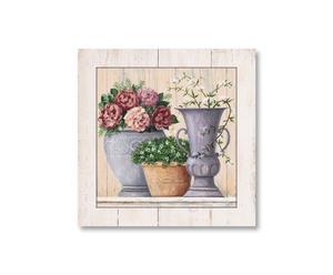 Kunstdruck Fleurs d'antique, 62 x 62 cm