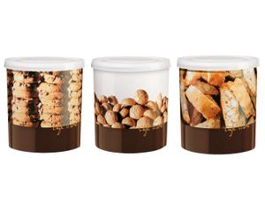 Gebäckdosen-Set Cookie, 3 Stück