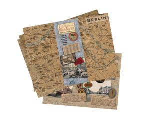 Stadtkarten-Set Europe, 12-tlg.