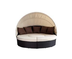 Lounge Toskana mit Schutzabdeckung