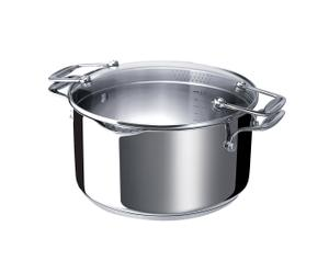 Kochtopf Chef Pratique mit Glasdeckel, Ø 24 cm
