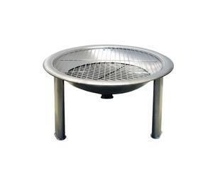 Edelstahl-Feuerschale Heat