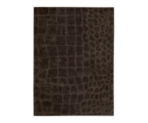 Handgefertigter Teppich Canyon Marsh Peat, 226 x 168 cm