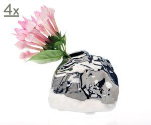 Vasen Small Rock, 4 Stück