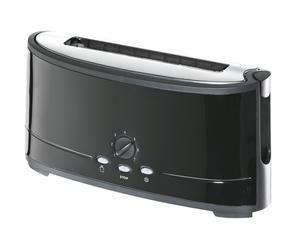 Toaster Schwarz, lang