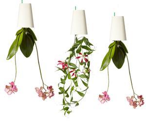 Hängendes Blumentopf-Set Sky Planter, weiß, 3-tlg.