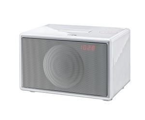 Soundsystem Geneva audio Model S, weiß