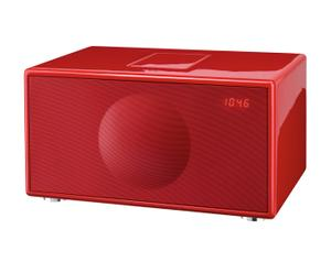 Soundsystem Geneva audio Model M, Rot