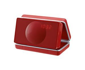 Soundsystem Geneva audio Model XS, rot