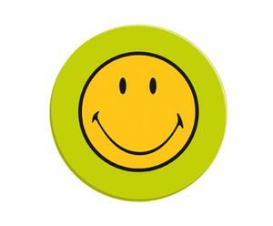 Speiseteller Smiley, grün