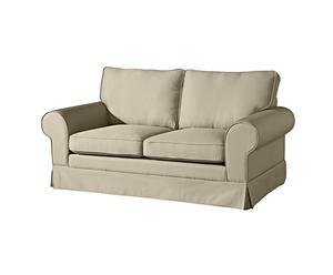 2-Sitzer-Sofa Hanna, klein, beige