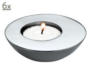 Teelichthalter-Set Ax, 6 Stück