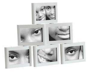 Fotorahmen-Set Wall, 6-tlg., 10 x 15 cm