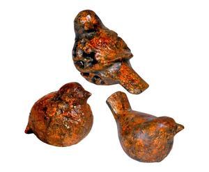 Deko-Vögel Birdie, 3-tlg.