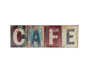 Deko-Schild Café