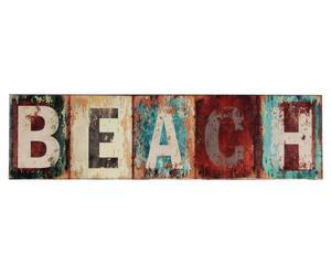 Deko-Schild Beach