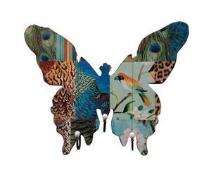 Wandgarderobe Butterfly III