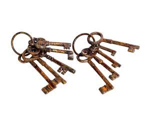 Deko-Schlüsselringe-Set ADAIR, 2-tlg.
