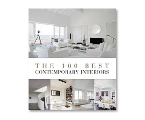 Coffee Table Book THE 100 BEST CONTEMPORARY INTERIORS