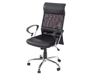Bürostuhl BALTIMORE, höhenverstellbar, schwarz