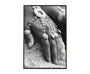 Handsignierte, gerahmte Kunstfotografie Marriage II, 90 x 60 cm