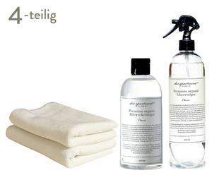 Organisches Reinigungsmittel-Set Terra, 4-tlg.