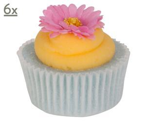 Bade-Cupcake-Set Daisy, 6 Stück