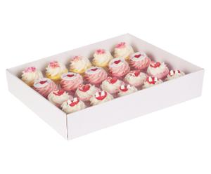 Bade-Cupcake-Set Love, 20-tlg.