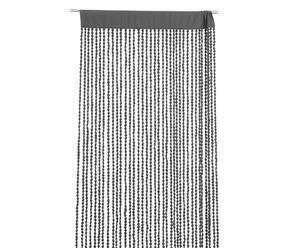 Vorhang Bergen, grau, 90 x 250 cm