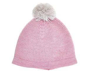 Kinder-Mütze JUNIOR, rosa