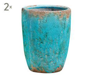 Vasen-Set FINA, 2 Stück, H 25 cm