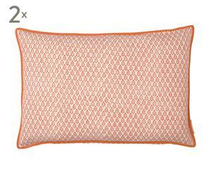 Kissenhüllen NEEM, 2 Stück, orange, 40 x 60 cm