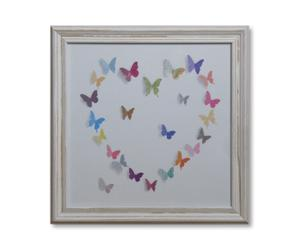Kunstdruck Flutterbyes 1, 30 x 30 cm