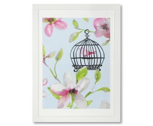 Kunstdruck Birdcage I, B 50 x H 70 cm