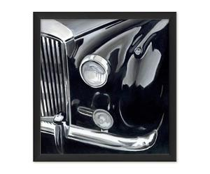 Giclee-Druck Black & Chrome, B 45 x H 60 cm