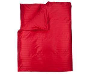 Bettdeckenbezug MAILAND, rot,<br/>200 x 200 cm