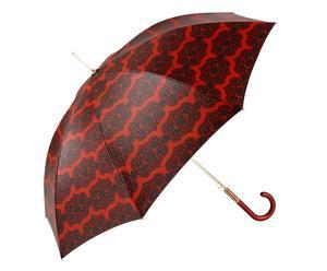 Automatik-Regenschirm Audrey, rot/schwarz