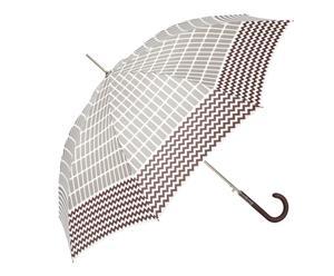 Automatik-Regenschirm Marlene, braun, grau
