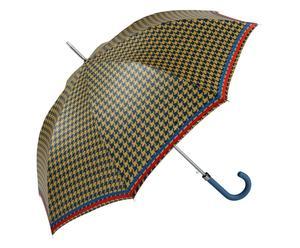 Automatik-Regenschirm Bette, blau/ocker
